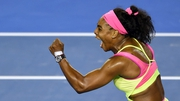 Serena Williams crushed Maria Sharapova to claim the title Down Under