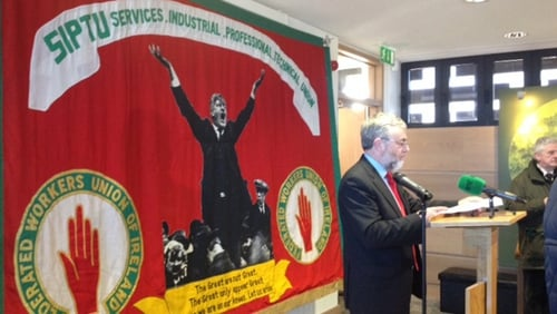 SIPTU to begin a campaign for pay increases of 5% across the economy