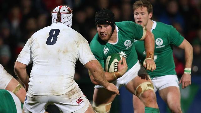 Sean O'Brien 'happy' with Ireland comeback
