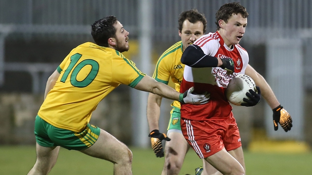 Derry's Kevin Johnston ruled out for season