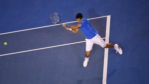 Novak Djokovic saw off Andy Murray 7-6 6-7 6-3 6-0