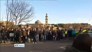 Six One News: Opposing protests outside Islamic Cultural Centre in Dublin
