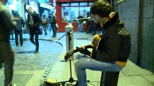 Busking in Temple Bar
