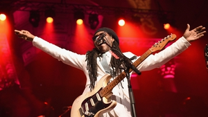 Nile Rodgers and Chic play the Iveagh Gardens, Dublin and Live at the Marquee, Cork