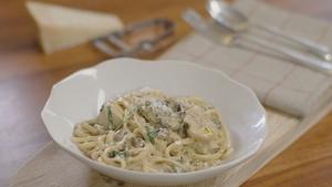 Neven Maguire's Linguini with Porcini Artichoke