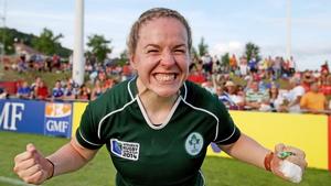 Niamh Briggs will captain the Irish team