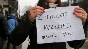 Don't do it, says the IRFU: The Union has warned against buying tickets from unofficial sources