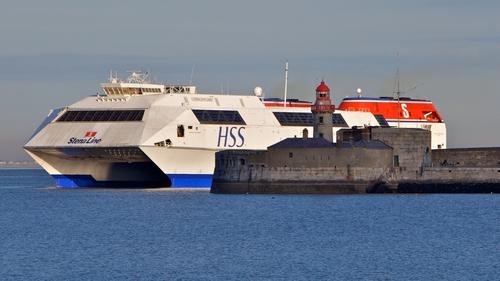 The HSS Stena Explorer entering Dun Laoghaire Harbour (Pic: John Fahy)