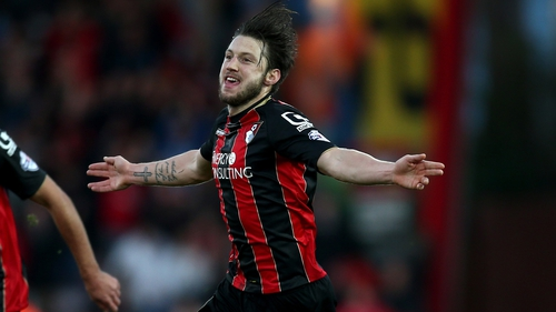 Harry Arter is hoping to earn a first international call-up with Ireland