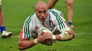 Sergio Parisse has won 113 caps for Italy