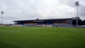 Pitch in Thurles frozen