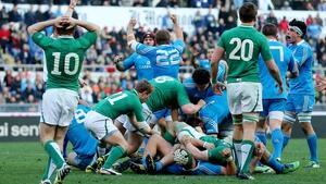 Ireland v Italy kicks off at 2.30pm on Saturday