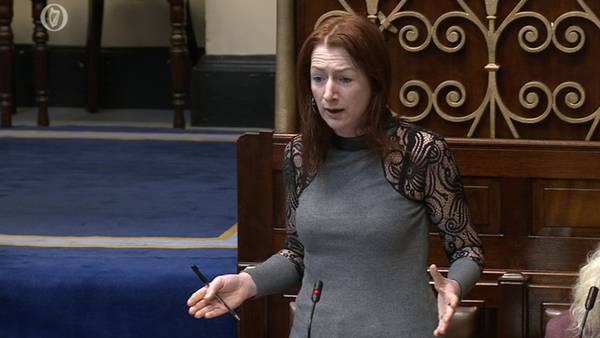 Clare Daly said the option of doing nothing was not good enough