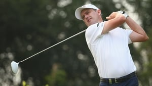 Peter Lawrie has carded rounds of 71 and 66