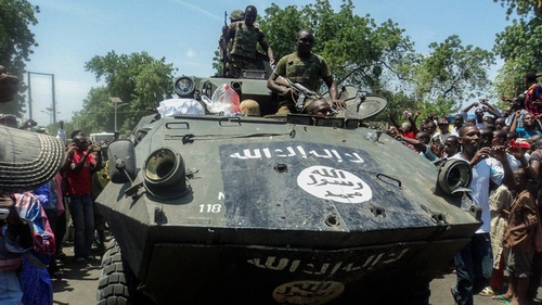 Boko Haram are trying to carve out an Islamic state in the northeast of Nigeria