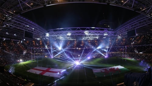 The Millenium Stadium in Cardiff hosted the opening game of the Six Nations between Wales and England