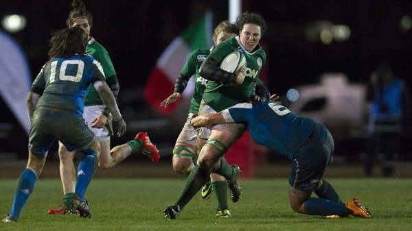 Paula Fitzpatrick scored two tries in Florence