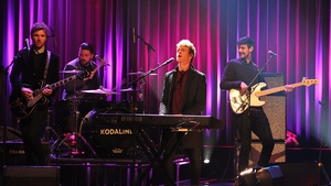 Kodaline performed Honest on the Late Late