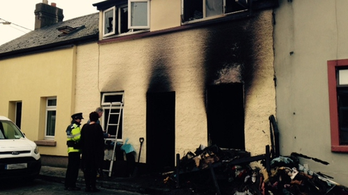 Three units of the fire brigade attended the scene