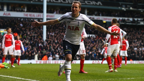 Harry Kane has scored 11 goals in his last 14 games, including doubles against Arsenal and Chelsea