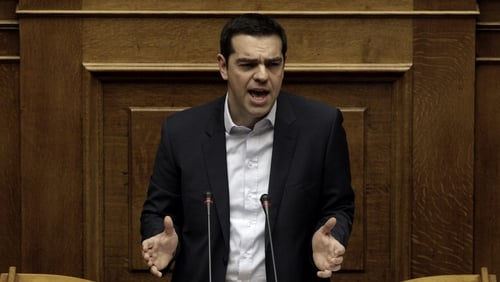 In an address to parliament Alexis Tsipras also promised measures to cut bureaucratic spending