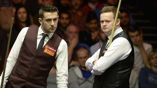 Mark Selby (l): 'It's fantastic to get a win under my belt this season. It's nice to get one out of the way'