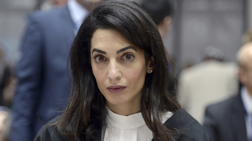 A celebrity role model? International human rights lawyer Amal Alamuddin-Clooney