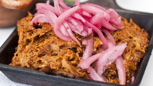 Pork Pibil with Red Onion Pickle