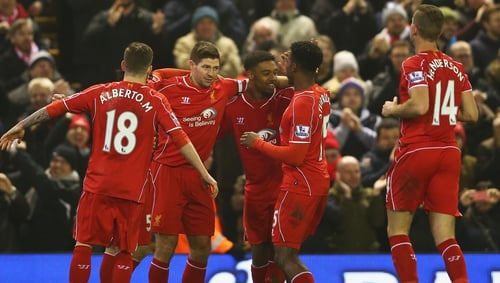 Liverpool got the better of Tottenham in an absorbing clash at Anfield
