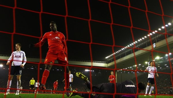 Mario Balotelli broke his Premier League duck for Liverpool with the winning goal in what was an absorbing contest at Anfield