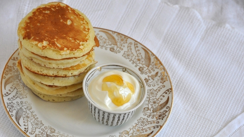 Lilly Higgins' Light Fluffy Pancakes