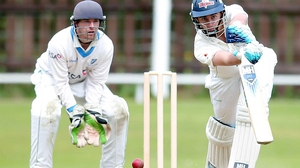 Waringstown all-rounder Lee Nelson (r) joins up in the C category