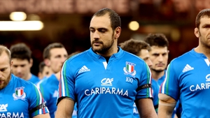 Marco Bortolami returns from injury to earn his 111th cap for Italy