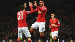 Chris Smalling has signed a new contract at Manchester United