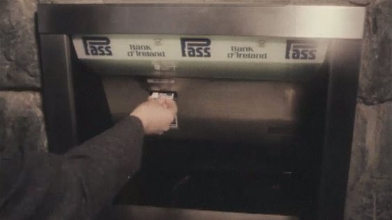 Bank of Ireland Pass Machine (1980)