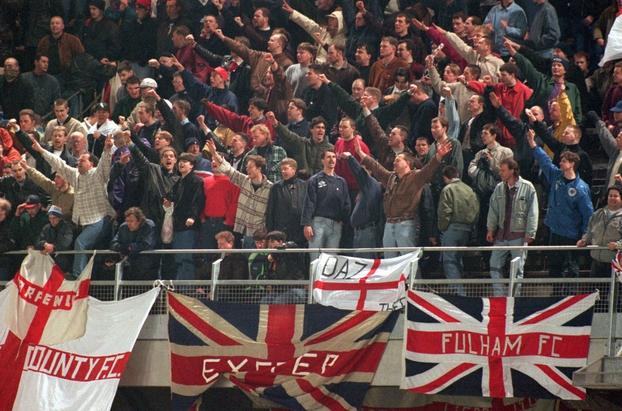English Fans at Lansdowne Road (1995)
