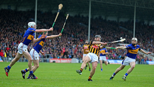 Tipperary and Kilkenny in action during the league in Thurles last year