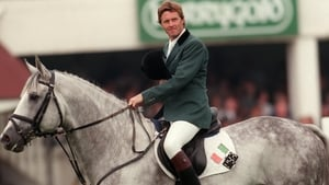 Trevor Coyle aboard Cruising at the 1997 RDS Horse Show