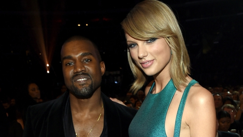 Kanye with his new bestie