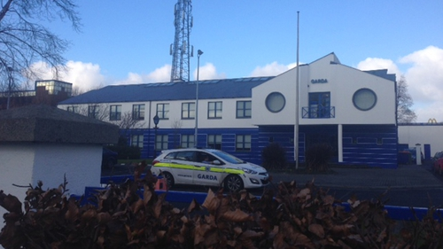 Two men are being detained at Tallaght Garda Station following the shooting