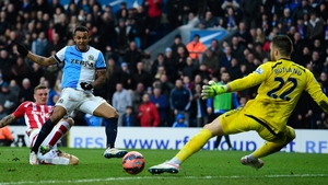 Josh King fired in a hat-trick for Blackburn Rovers