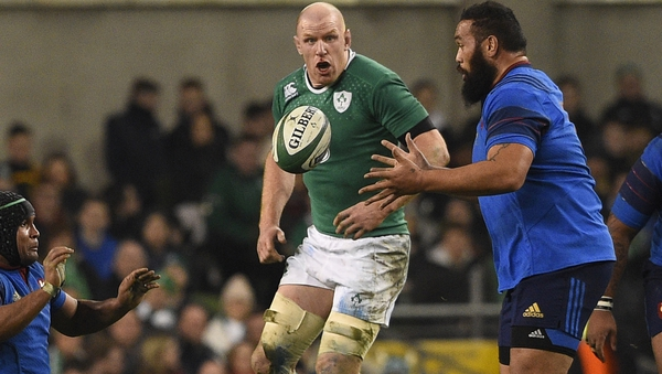 Paul O'Connell's Ireland side are 2&0 in the 2015 Six Nations