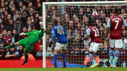 Shay Given was in fine form for Aston Villa