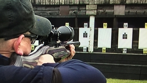 Gun enthusiasts shoot in controlled environments