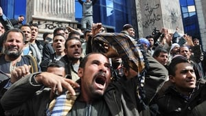 Egyptians protested at what they saw as government inaction to the kidnappings
