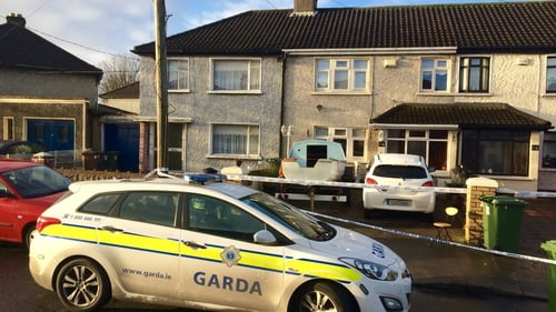 The scene of the fatal shooting remains sealed off this morning