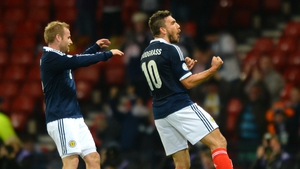 Robert Snodgrass is hoping that Scotland will still be in the Euro qualification mix when he gets back