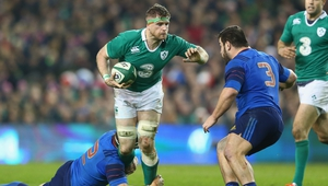 Ireland team manager has confirmed that the earliest Jamie Heaslip will return to action is against Wales in round four of the Six Nations
