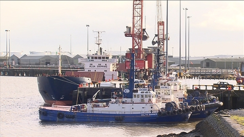 The expansion will create capacity for the worlds largest cargo vessels to travel and unload at Foynes
