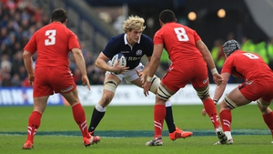 Richie Gray suffered an upper arm injury during defeat to Wales